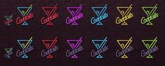 """NotEgain: Neon Signs """"Cocktails"""" and """"Beer"""" & Ambient Lights • Sims 4 Downloads"""