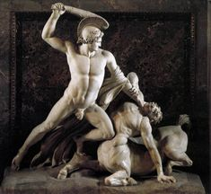 Antonio Canova | Theseus and the Centaur 1804-19