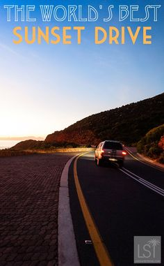 South Africa is home to perhaps the world's finest sunset drive - the Western Cape's Clarence Drive, between Hermanus and Cape Town. This road is just begging for a road trip!