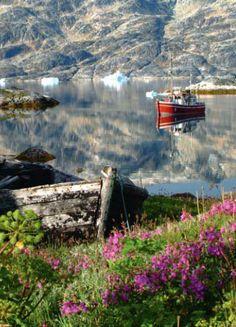 Calm Sea in Greenland