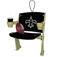New Orleans Saints Stadium Chair Ornament