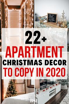 the best apartment christmas decor ideas for 2020 Apartment Christmas, Cute Apartment, Apartment Living, First Apartment Checklist, First Apartment Essentials, Moving House Tips, Ikea, Apartment Decorating On A Budget, Cool Apartments
