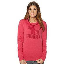 There are sweatshirts. And then there sweatshirts with style. Newsflash: this one falls firmly into the latter category. C'mon, with its unique extended collar shape and nod to authentic PUMA heritage? We're hooked. Total weekend layering essential.  Features:   80% Cotton, 20% polyester  French terry with PUMA No. 1 Logo at chest  Neckline with drawstring with an adjustable fit  Kangaroo pocket  PUMA No. 1 Logo at chest