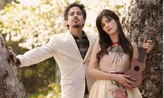"""She & Him - Probably the """"folkiest"""" music I listen to, but it's all so feel-good and charming, plus what's not to love about Zooey?!"""