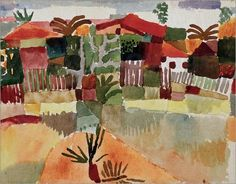 Paul Klee--Tunisia--