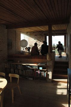 michael sten johnsen, stens hus, interior by seier+seier, via Flickr