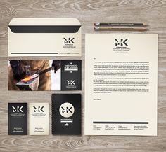 MK visual identity - carpentry - on Behance