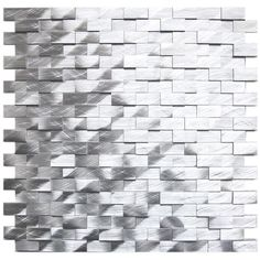 Aluminum Mosaic Tile 3D Raised Small
