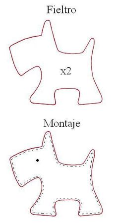 Scotty Dog: tutor for Petit Chien. - El ... - #Chien #dog #El # for #m ...