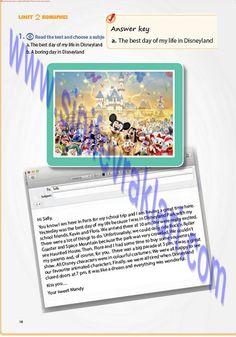 7. Sınıf İngilizce Pantera Yayınları Ders Kitabı Cevapları Sayfa 18   7. Sınıf İngilizce Pantera Yayınları Ders Kitabı Cevapları Sayfa 18 ... Day Of My Life, Good Day, Disneyland, The Unit, Good Things, Reading, School, Buen Dia, Good Morning