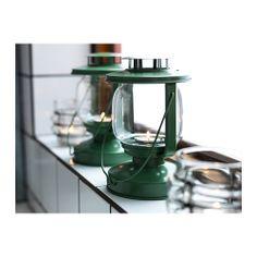 Linterna sorda para tealight IKEA se puede utilizar tanto en exteriores como en interiores.