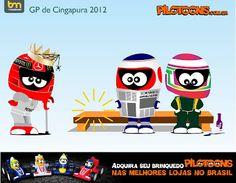 formula one cartoon images | Continental Circus: Formula 1 em Cartoons - Schumacher, reforma-te ...
