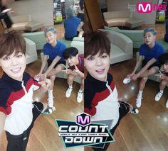 #BTS JIMIN, J-HOPE, RAP MONSTER #INEEDU MCountdown [150430]