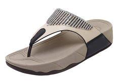 9011a4760cf9 CAMSSOO Women s Round Toe Sparkling Bead T-Strap Bohemia Sandals Summer Beach  Flip-Flops