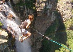Swing across Oribi Gorge, South Africa