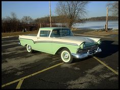 car-hire-uk.com Review:- 1957 Ford Ranchero  292 CI, Automatic