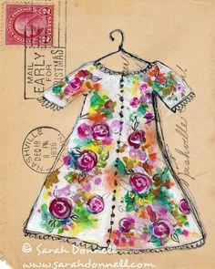 Sarah Donnell - Arte en sobres para correo ordinario