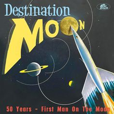 Various – Destination Moon: 50 Years - First Man On The Moon 50's 60's Rockabilly Rock & Roll Non-Music Jazz Pop Music Album Compilation Label: Bear Family Records – BCD 17527 Format: CD, Compilation Country: Europe Released: 26 Jul 2019 Genre: Rock, Non-Music, Pop Style: Rockabilly, Spoken Word Tracklist 1 –Dinah Washington Destination Moon 2 –John F. #50s #60s #Blues #fifties #Jazz #NonMusic #Pop #R&B #Rock #Rock&Roll #Rockabilly #sixties #Swing