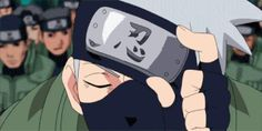 Hatake Kakashi, Sharingan, gif; Naruto