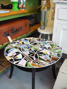 super cool DIY mosaic