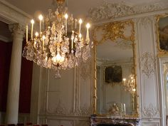 Hôtel de Soubise, Paris, Prince of Soubise Chamber. Interiors by Germain Boffrand, created about 1735-40 , are among the high points of the #rococo style in France #boiserie