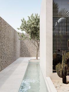 greece architecture house Greece Villa on Behance Design Exterior, Interior And Exterior, Design Hotel, House Design, Villa Design, Outdoor Spaces, Outdoor Living, House Goals, Interior Architecture