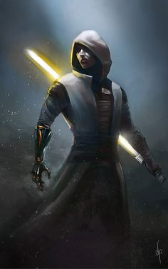 Jedi knight by dimitroncio.deviantart.com on @DeviantArt