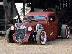RatRod Pics and Old School Hot Rod Forum for Rat Rod Trucks and Car Pictures and Parts. Hot Rod Trucks, Cool Trucks, Pickup Trucks, Cool Cars, Truck Drivers, Dually Trucks, Semi Trucks, Chevy Trucks, Lifted Trucks
