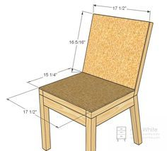 Ana White | Build a Parson Chair Plans | Free and Easy DIY Project and Furniture Plans