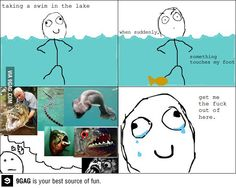 This is exactly why I don't swim anywhere besides a pool and never will.....damn river monsters show!