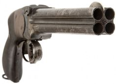 Super Rare Lancaster Four Barrel Pistol - Allied Deactivated Guns Weapons Guns, Guns And Ammo, Rifles, Fire Powers, Cool Guns, Lancaster, Firearms, Shotguns, Cannon