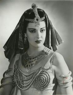 Linda Darnell in Everbody Does It wearing Joseff Hollywood Jewelry  See beautiful pics like this in soon to be released Joseff of Hollywood book...  Pre-order Joseff of Hollywood: Putting the Tinsel in Tinseltown  By Michele Joseff www.joseffofhollywoodbook.com