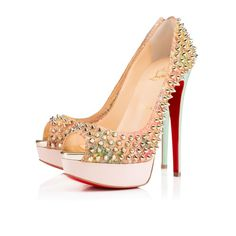 Shoes - Lady Peep Spikes - Christian Louboutin