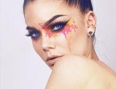 "Linda Hallberg ""Radioactive"" artistic makeup"