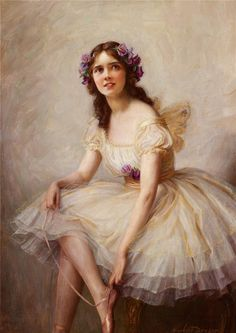 Painting by Herbert James Draper  (1863-1920)