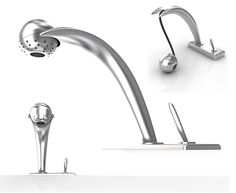 faucet design by Okan Can Orhan from his Behance portfolio