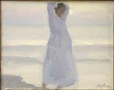 Expressive Art, Figure Painting, Figurative Art, Gouache, Oil On Canvas, Summertime, Porn, Auction, Portraits