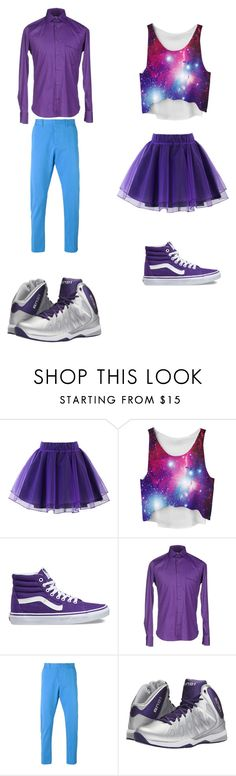 """""""Untitled #282"""" by kassidyrobinson on Polyvore featuring Chicwish, Vans, AMI and And1"""