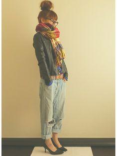 Ayumiさんのシャツ・ブラウス「BEAMS 」を使ったコーディネート
