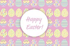 Happy Easter Pattern by Subcutaneo Creative Store on Creative Market