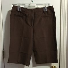 Kasper Brown Casual Shorts Casper essential sportswear collection brown shorts Kasper Shorts