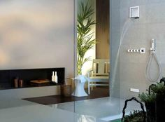 Gessi iSpa:  Feature water aerators to reduce consumption but with little effect on sensation