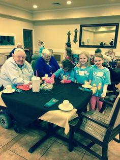 Children from FBC Richmond, KY, hosted Valentine parties at two local retirement apartment complexes for Children's Ministry Day 2015. They took games to play with the residents and small treats like tissues and candy. #cmd2015 #cmd15