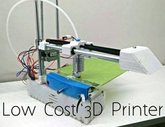 how to make a low cost 3d printer. It should cost around $150.