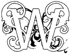 Illuminated-letter Coloring Pages! | Art Ed - Royal Kingdom ...