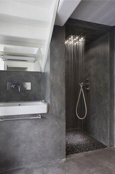 carrelage salle de bain noir et blanc.html
