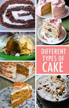 Do you find yourself baking the same standard cake recipe over and over? Expand your recipe box with 10+ types of cake to try.