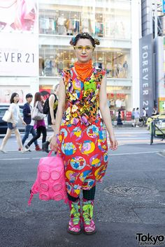 Bunka Fashion College Student in Harajuku