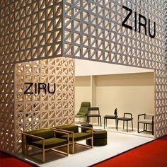 Stand ZIRU Salone Internazionale del Movile 2011. Milan