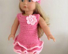 Patrón de ganchillo PDF 18 pulgadas muñeca muñeca por petitedolls